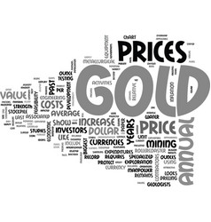 Why gold fluctuates text word cloud concept vector