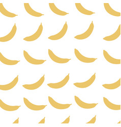 banana fruit harvest fresh seamless pattern image vector image vector image
