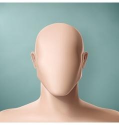 Faceless vector