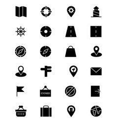 Map and Navigation Icons 2 vector