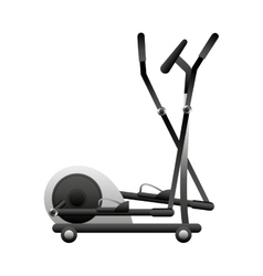 Stairmaster fitness machine icon vector image