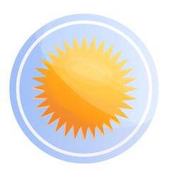 sunblock cosmetic icon cartoon style vector image