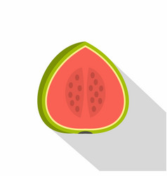 Watermelon icon flat style vector