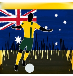 Footbal Australia vector image vector image