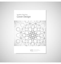 Abstract figure concept vector image vector image