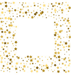Gold stars on a white background iilustration vector
