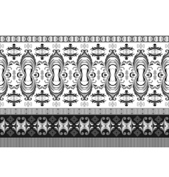 horizontal seamless border Beautiful vector image