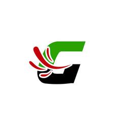 letter g logo creative concept icon vector image