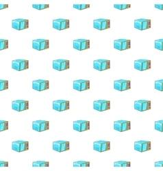 Microwave pattern cartoon style vector