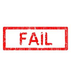 Office stamp fail vector