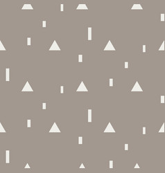 Random triangle shapes seamless pattern vector
