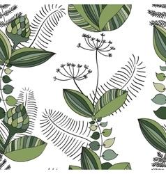 Scandinavian Floral Pattern vector