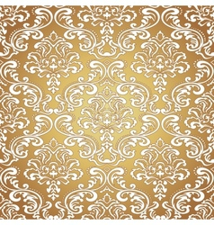 Seamless Pattern BackgroundDamask Wallpaper vector image