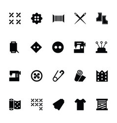 Sewing Icons 3 vector