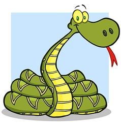 Snake Cartoon Character vector image vector image