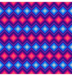 Modern crystal zig zag and rhombus seamless vector image