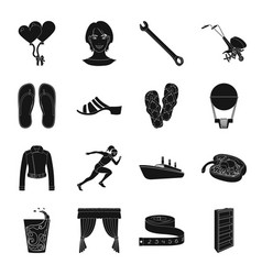 atelier sports travel and other web icon in vector image vector image