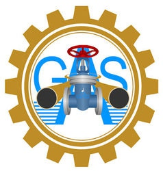 Icon gas industry vector image