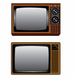 TV illustration vector image vector image