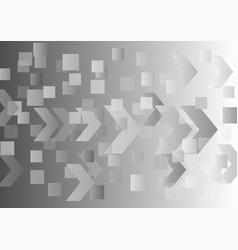 Abstract gray gradient digital light background vector
