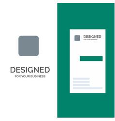 Box checkbox unchecked grey logo design and vector