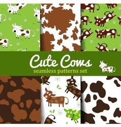 Cow-set-1 vector image