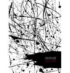 Ink splatter template for cover poster flyer vector