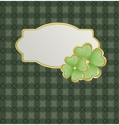 Patrick Day Design vector image