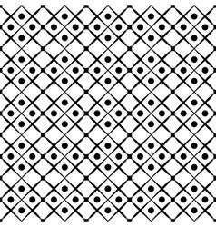 Polka dot seamless pattern vector image