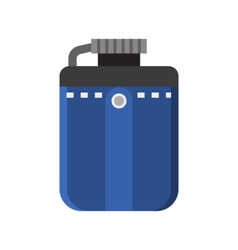 Tourist Flask Icon vector