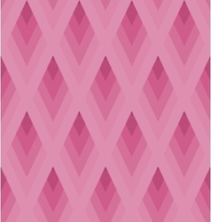 Seamless light pink pattern with rhombus EPS10 vector image vector image
