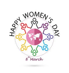 International womens day iconwomens day vector
