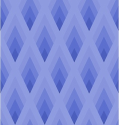 Seamless light blue pattern with rhombus EPS10 vector image