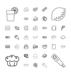 37 slice icons vector
