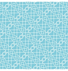 abstract geometric background with ethnic ornament vector image