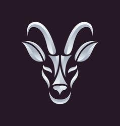 antelope logo vector image