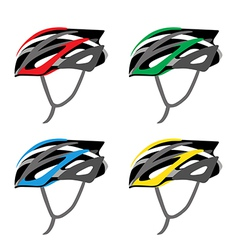 BICYCLE SAFETY HELMET vector image