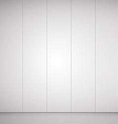 Empty room grey background for goods vector