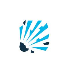 explosive icon colored symbol premium quality vector image