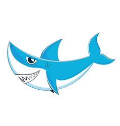 Great White Shark3 vector image