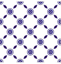 Indigo seamless pattern vector