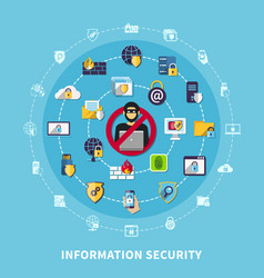 Information security composition vector