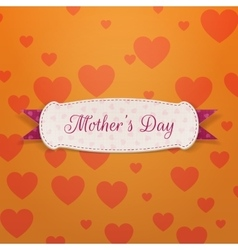 Mothers Day paper Banner Template vector