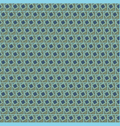Seamless geometric pattern with tilted squares vector