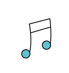 Musical sign to can play a instrument vector