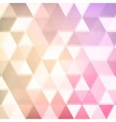 abstract defocused triangle background vector image vector image