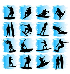 water sport vector image