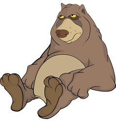 Brown Bear vector image
