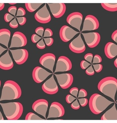 Flower pattern background seamless vector