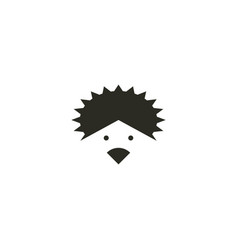 Hedgehog logo icon symbol design element vector